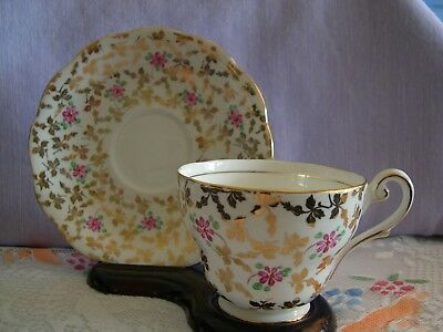 Royal Standard cup and saucer, bone china, made in England