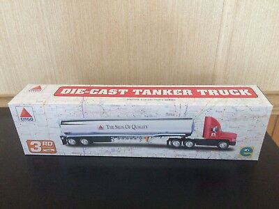 Equity Marketing, Inc. (Not Hess) 1998 Citgo Die-Cast Tanker Truck Not Removed