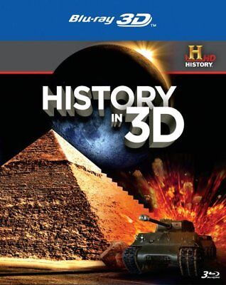 HISTORY IN 3D New Sealed Blu-ray 3D History Channel
