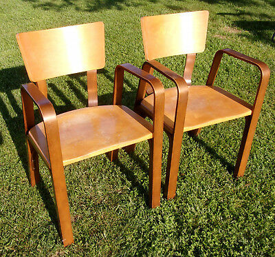 4 Vintage 2 of each Mid Century Modern MCM Original Thonet Bentwood Chair