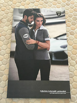 LAMBORGHINI OFFICIAL COLLEZIONE AUTOMOBILI PERSONAL ACCESSORIES BROCHURE USA Ed.