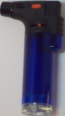 Soreaming Eagle Torch Refillable Windproof Jet Lighter Color Blue Size 4 inches