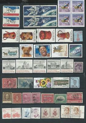 USA, lot 1 nice page of stamps interesting selection see SCAN (4121]