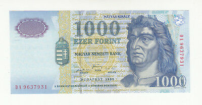 Hungary 1000 forinth 1998 UNC p180a @ low start