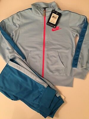 Brand New With Tags Authentic Little Girls Nike 2 pc. Track Suit Size 5