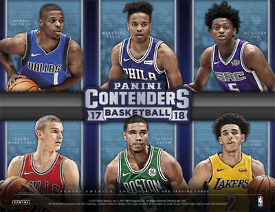 2017-18 Panini Contenders The Finals Ticket Basketball Cards Pick From List