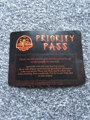 Wicker Man Fast Pass - Alton Towers - For 2 People
