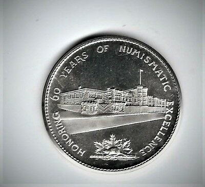 1982 Canada $1 (Proof Like) Constitution comm w/1968 60th Anniv Royal Mint medal