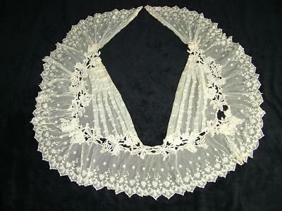 Antique Lace Ladies Dress Collar From Old Estate Sale