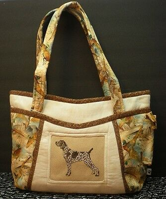 Handmade German Shorthaired Pointer Purse USA **CC**  GSP
