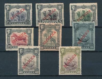 [35287] Nyassa Good lot Very Fine MH stamps