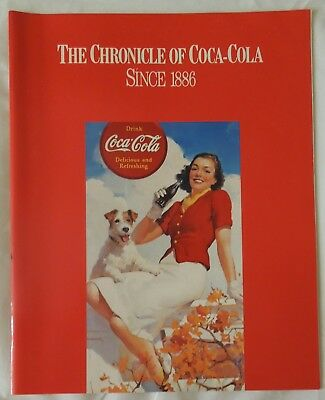 The Chronicle Of Coca-Cola Since 1886 Booklet