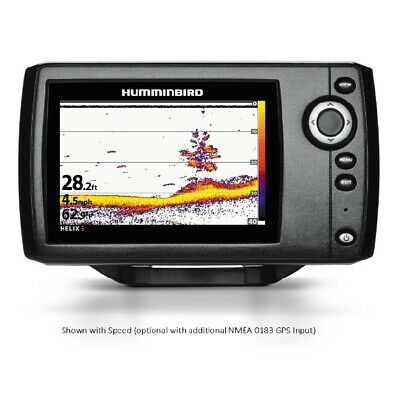 "FREE 2 Day Delivery! Humminbird HELIX5 Sonar 5"" Wvga Color Fishfinder G2 Humminb"