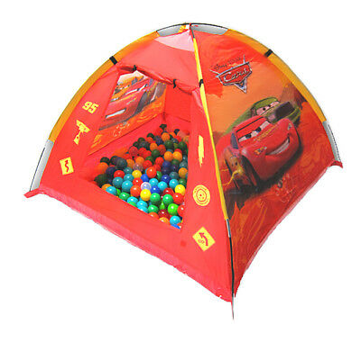 "Spielzelt ""CARS"" +200 Bällebad Bälle 6cm Zelt Pop UP Pool Neu"