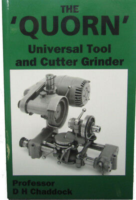 RDG Quorn Universal Tool and Cutter Grinder by D.H. Chaddock (Paperback, 1990)
