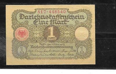 GERMANY #58 1920 Vf CIRCULATED OLD MARK OLD VINTAGE BANKNOTE PAPER MONEY NOTE