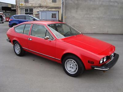 ALFA ROMEO ALFETTA 2.0i GTV LHD MAN COUPE(1976)RARE EASY PROJECT RUNS/DRIVES!