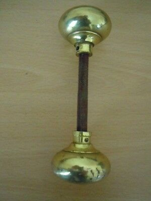 Pair Of Brass Door Knobs