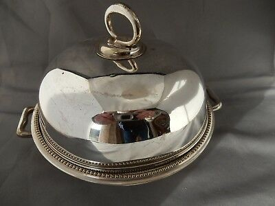 Lovely Vintage Silver Plate Muffin Dish