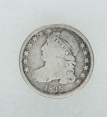1835 Capped Bust Dime 10C G  Good