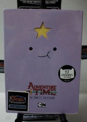 Adventure Time: The Complete 6 Season Dvd - New Dvd Free Ship!!!