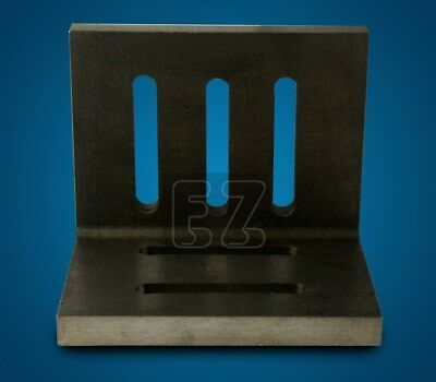 Open End Angle Plate 6x5x4-1/2 Slotted Plates Ground