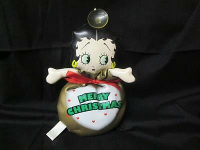 Betty Boop i Christmas Bag with suction cup for window