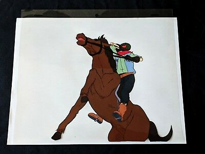 The Real Ghostbusters 1991  Production Hand Painted Headless Horseman Cel