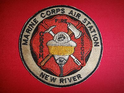 Overig Accessoires, losse onderdelen NEW RIVER MARINE CORPS AIR STATION PATCH COLOR