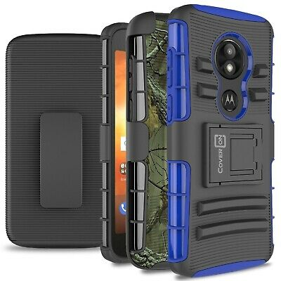 CoverON for Motorola Moto E5 Play / Moto E5 Cruise Belt Clip Case Hybrid Cover