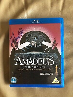 HAND-SIGNED BLU-RAY DVD, F. Murray Abraham 'Amadeus' brand new Director's Cut