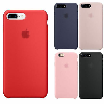 Genuine Originale Silicone Sottile Custodia Cover per iPhone 8 7 6s 6 plus ct1