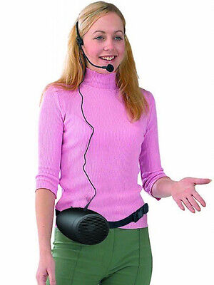 Chiayo iTalk Personal belt worn PA System with headset microphone