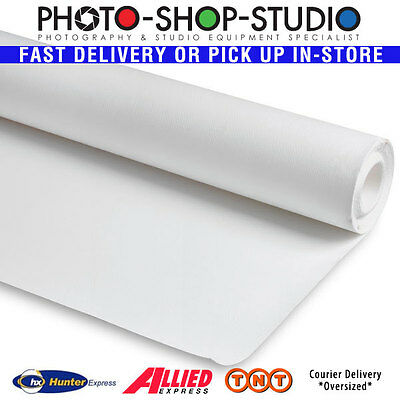 Sunfor #1 White 1.35 x 10m Seamless Background Backdrop Paper Roll (Half Width)