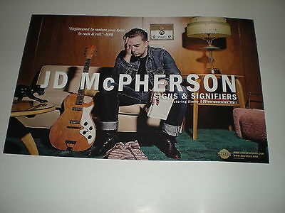 JD McPHERSON j.d. POSTER for the tour / concert / album cd signs and signifiers