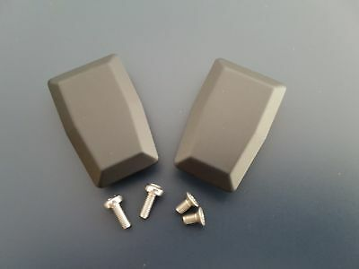 Land Rover Defender Window Latch Cover Plate Kit PAIR