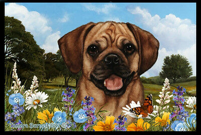 Indoor/Outdoor Summer Floor Mat - Puggle (TB) 39123