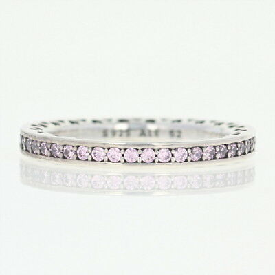 7e129466dc3a1 NEW AUTHENTIC PANDORA Sparkling Arcs of Love Ring Sterling Heart 52 ...