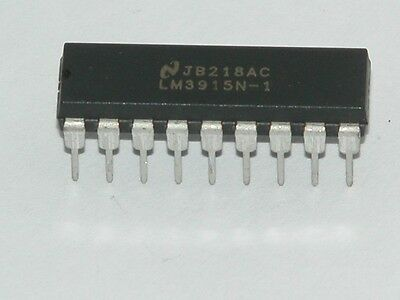 LM3915 - Bargraph Driver IC
