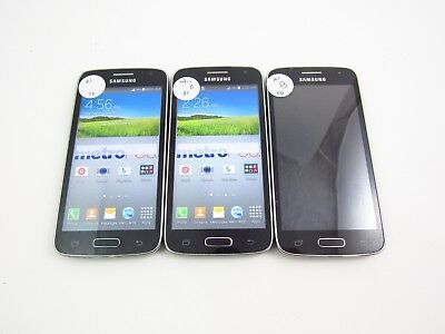 Lot of 3 Samsung Galaxy Avant G386T1 MetroPCS Check IMEI 3B 362
