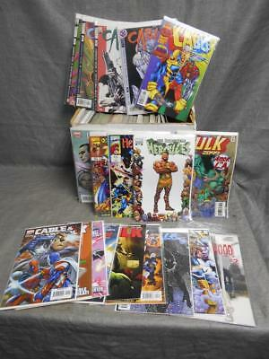 Lot of 100+ Mixed Rare Covers DC Marvel Others Comic Book Old to New #62