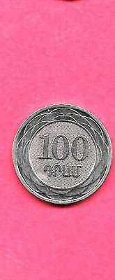 Armenia Km95 2003 Unc-Uncirculated Mint 100 Drum Old Aluminum Coin