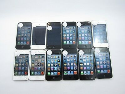 Cracked Lot of 12 Apple iPod Touch A1367 8GB WiFi Check IMEI 4D 1123