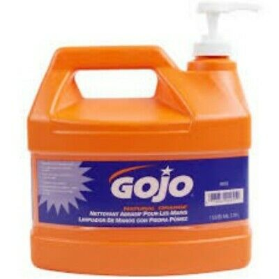 GoJo 0955-02 Gallon Natural Orange Hand Cleaner w/Pumice