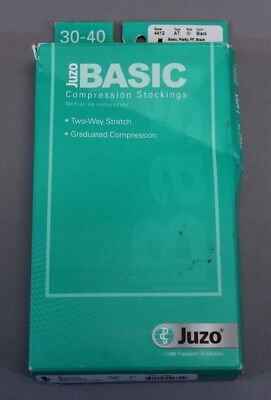 Juzo Basic Women's Compression Stockings BF5 Black Size 3 NWT