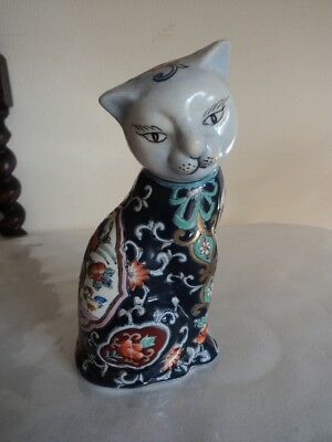 Lovely Chinese cat figurine