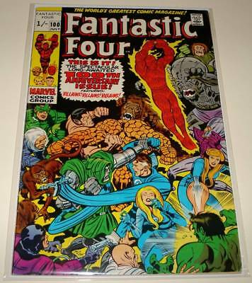 FANTASTIC FOUR # 100 Marvel Comic (July 1970)  VG/FN  Anniversary Issue !
