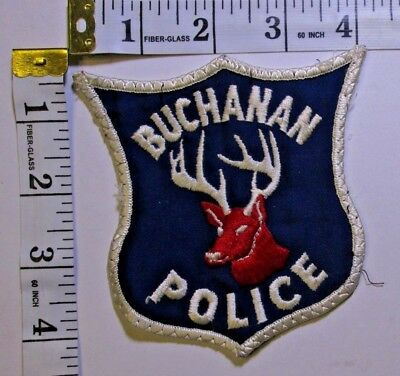 Buchanan Michigan Police Department Shoulder Patch