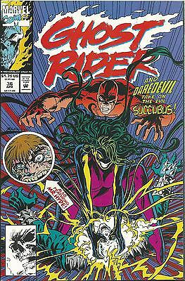Ghost Rider #36 (2Nd Series)  (Marvel)  1990