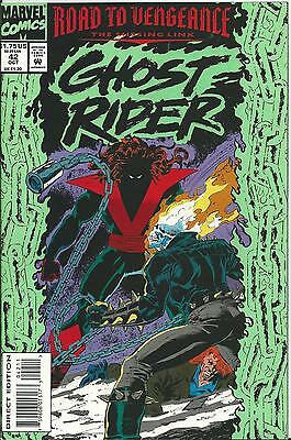 Ghost Rider #42 (2Nd Series)  (Marvel)  1990